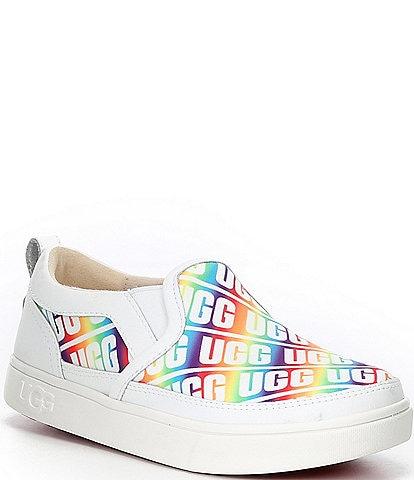 UGG® Girls' Caplan UGG® Logo Slip On Sneakers (Toddler)