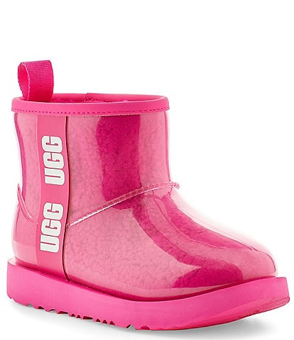 UGG® Girls' Classic Clear Mini II Winter Boots (Youth)