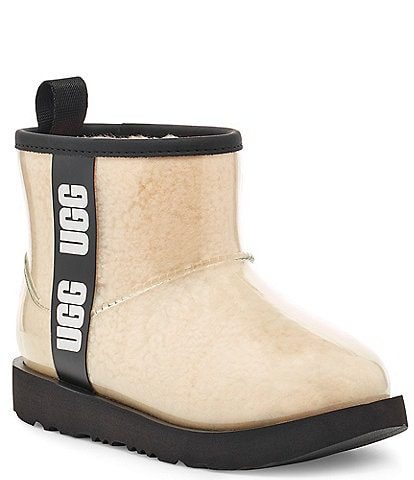 UGG® Girls' Classic Clear Mini II Waterproof Boots (Toddler)
