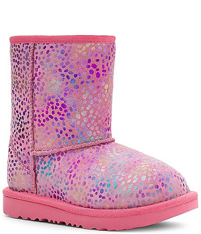 UGG® Girls' Classic II Spots Suede Boots (Toddler)