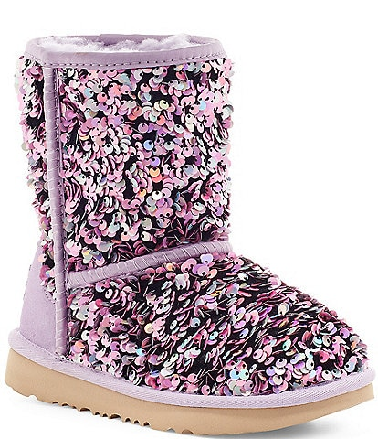 UGG® Girls' Classic II Stellar Sequin Boots (Youth)