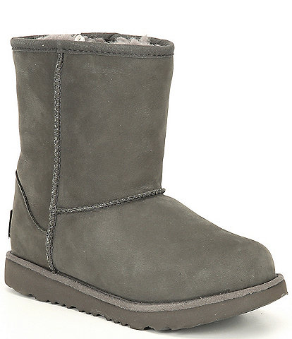 UGG® Kids' Classic Short II Waterproof Winter Boots (Youth)