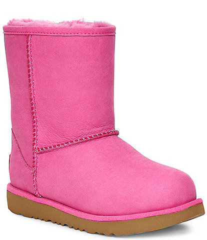 UGG® Girls' Classic Weather Waterproof Short Boots (Youth)