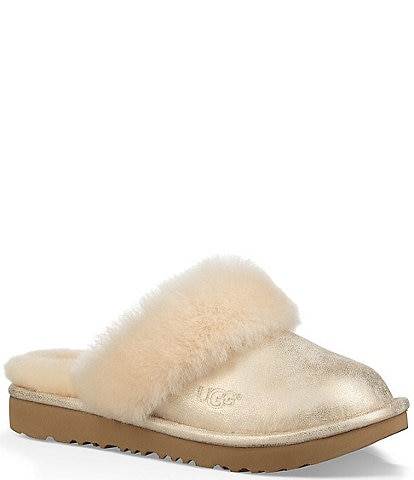 UGG® Girls' Cozy II Metallic Slipper (Youth)