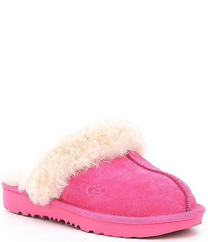 UGG® Kids' Cozy II Suede Slip-On Slippers (Youth)