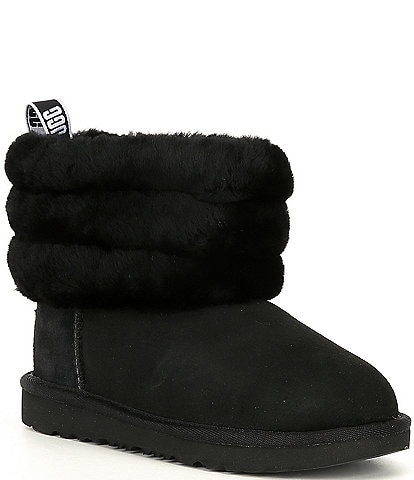 UGG® Girls' Fluff Mini Quilted Boots (Youth)