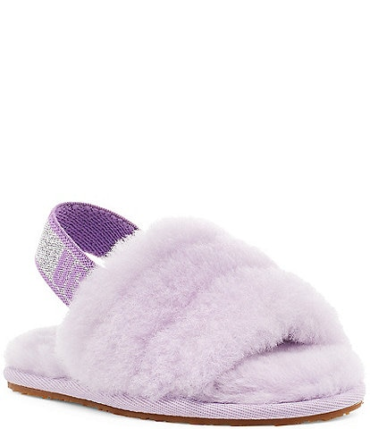 UGG® Girls' Fluff Slides (Toddler)