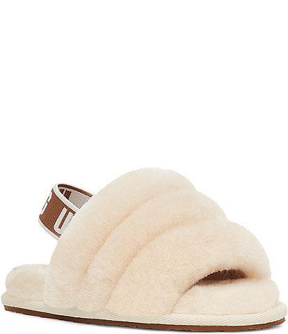 UGG® Girls' Fluff Yeah Fur Slides (Infant)