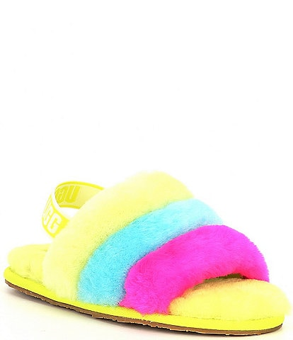 UGG® Girls' Fluff Yeah Slides (Infant)