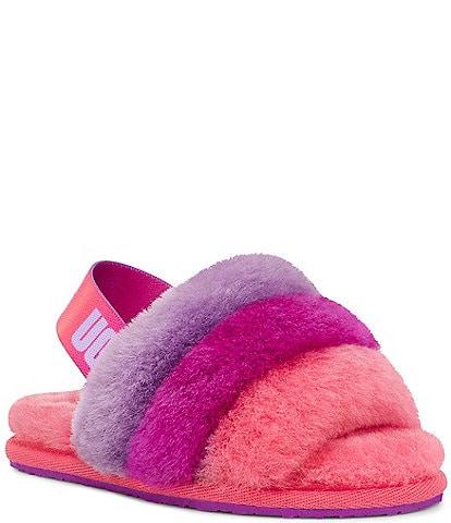 UGG® Girls' Fluff Yeah Slides (Toddler)