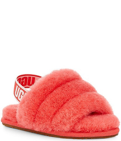 UGG® Girls' Fluff Yeah Slides (Toddler)