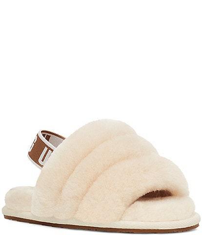 UGG® Girls' Fluff Yeah Fur Slides (Toddler)