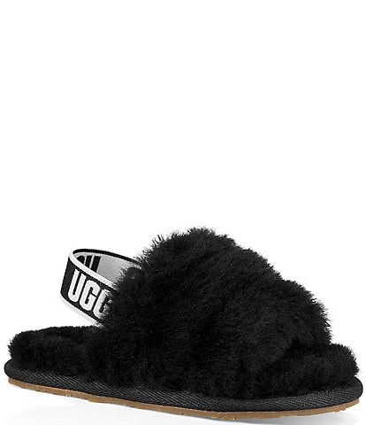 UGG® Girls' Fluff Yeah Slides Toddler