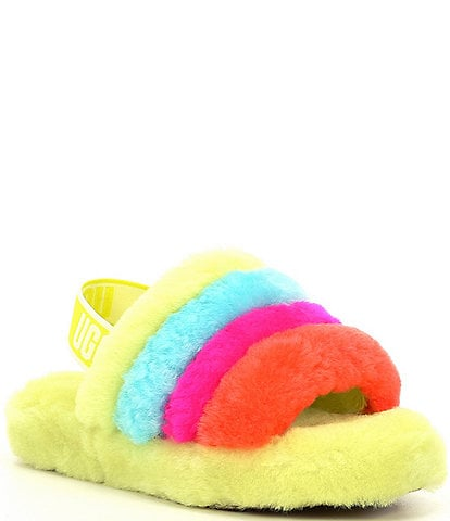 UGG® Girls' Fluff Yeah Slides (Youth)