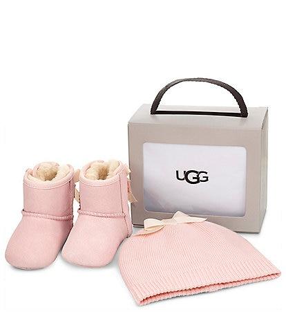 17d42ce6a153 UGG Girls' Jesse Bow II & Beanie Crib Shoe ...