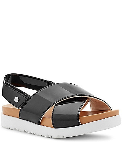 UGG® Girls' Klara Patent Slingback Sandals (Youth)