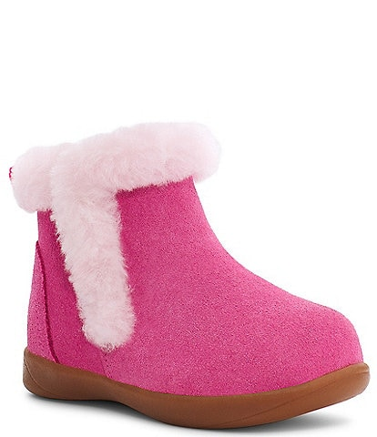 UGG® Girl's Mallya Suede Boots (Toddler)