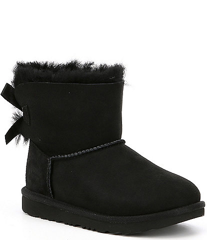 UGG® Girls' Mini Bailey Bow II Water Resistant Boots (Toddler)