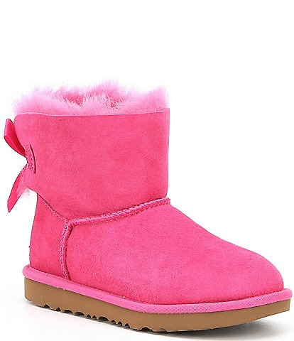 UGG® Girls' Mini Bailey Bow II Boots (Youth)