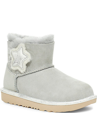 UGG Girls' Mini Bailey Button Star Boots Infant