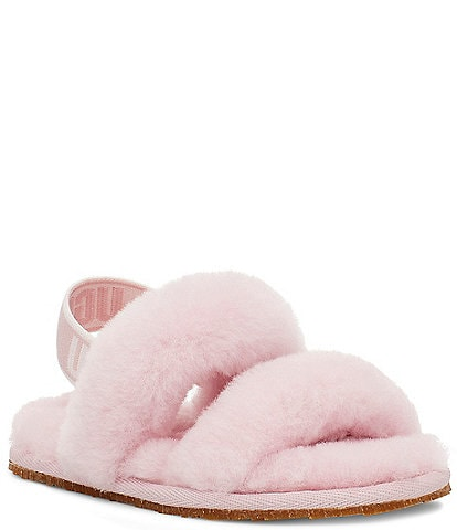 UGG® Girls' Oh Yeah Slipper (Toddler)