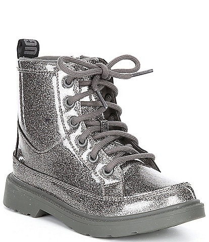 UGG® Girls' Robley Glitter Lace-Up Boots (Youth)