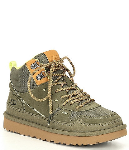 UGG® Highland Suede Hi Heritage Lace-Up Sneakers