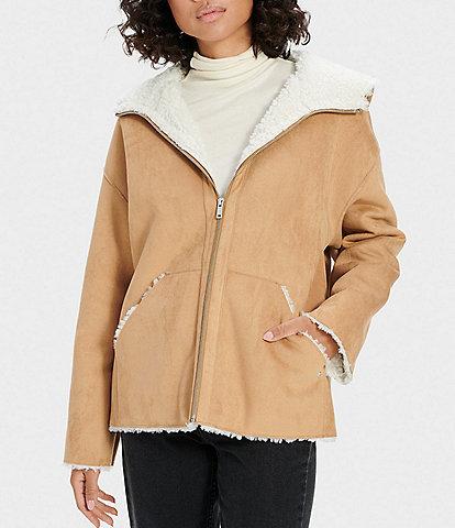 UGG Jody Sherpa Hoodie Coat