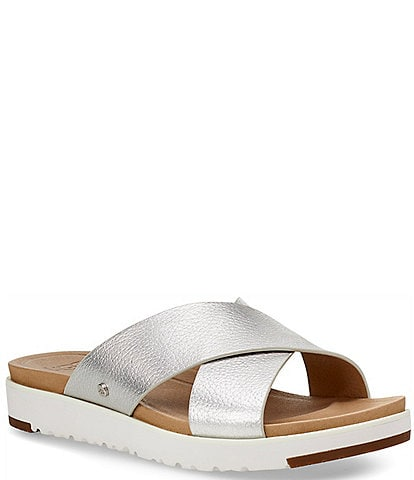 UGG® Kari Metallic Slides