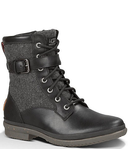 UGG® Women's Kesey Waterproof Leather and Textile Boots