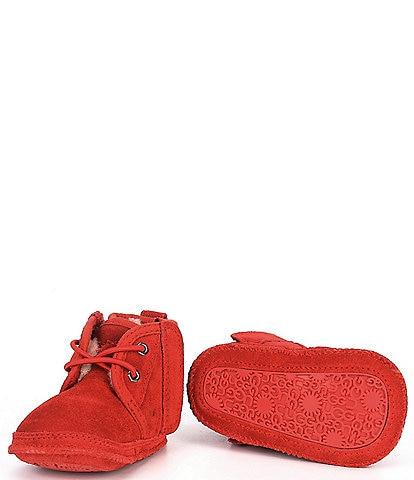 UGG® Kids' Baby Neumel Suede Crib Shoes (Infant)