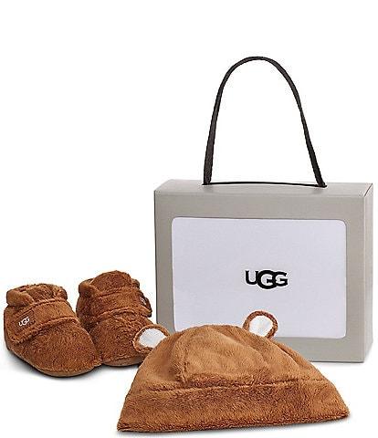 UGG® Kid's Bixbee And Beanie Crib Shoes Gift Set (Infant)