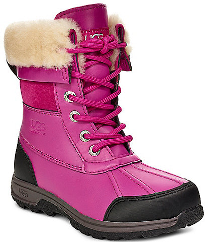 UGG® Kids' Butte II Waterproof and Leather Winter Boots (Toddler)
