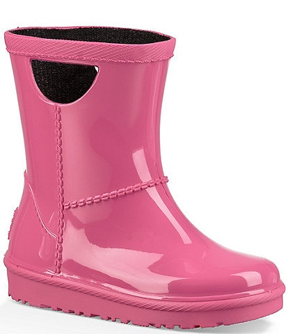 UGG® Kid's Rahjee Rubber Waterproof Pull On Rainboots