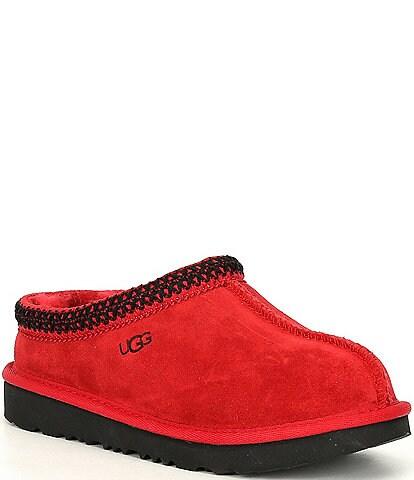 UGG® Kids' Tasman II Suede Slippers (Youth)