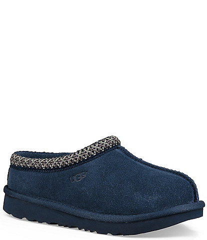 UGG® Kids' Tasman II Suede Slippers (Youth)