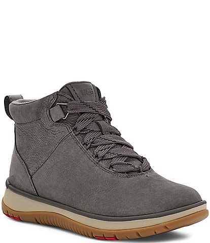 UGG® Lakesider Ankle Waterproof Leather Lace-Up Booties