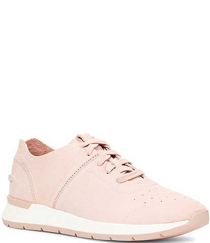 UGG® Layla Suede Lace-Up Sneakers