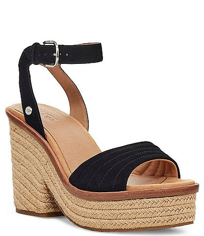 UGG® Laynce Jute Wrapped Sandals