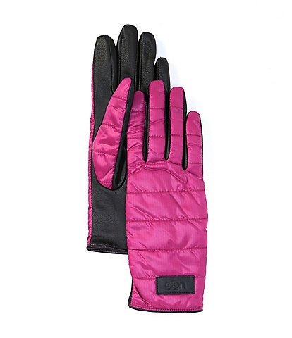 UGG Leather Glove with Zipper