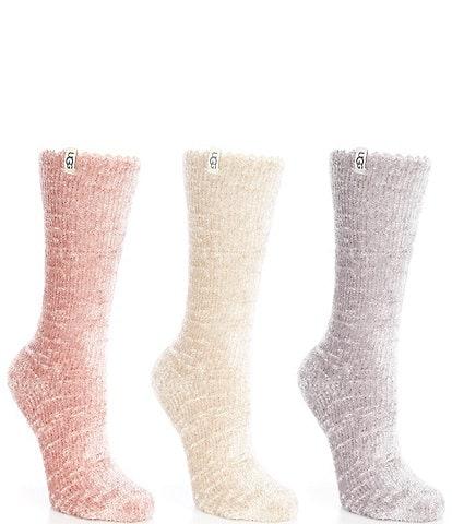 UGG Leda Sparkle Socks, 3 Pack