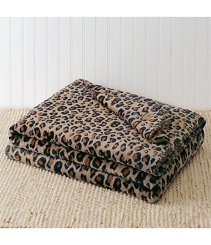 UGG Leo Leopard Throw
