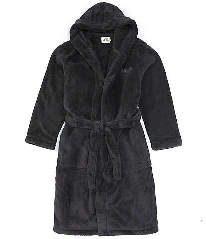 UGG® Loungewear Beckett Long-Sleeve Faux-Sherpa Hooded Robe