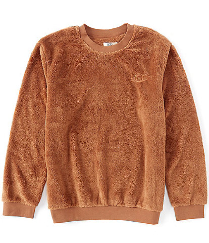UGG® Loungewear Coby Long-Sleeve Faux-Sherpa Pullover