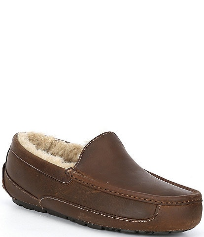UGG® Men's Ascot Leather Slip Ons