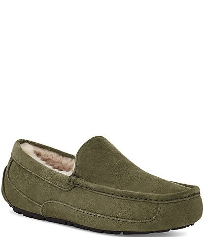 UGG® Men's Ascot Suede Moc-Toe Slippers