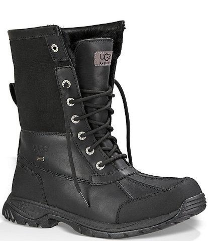 UGG Men's Butte Waterproof Leather Winter Boots