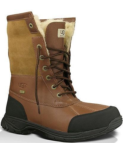 UGG® Men's Butte Waterproof Leather Winter Boots