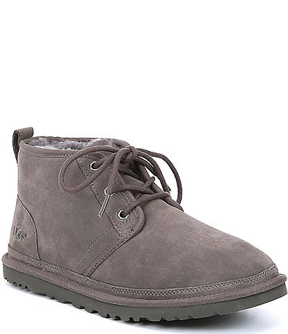 UGG® Men's Neumel Classic Fur Lined Suede Lace-Up Chukka Boots