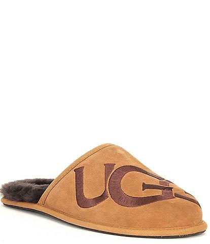 UGG® Men's Scuff Logo Slippers